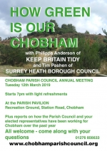 Chobham Annual Parish Meeting 2019