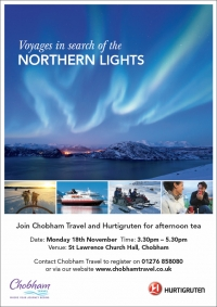 Voyages in search of the Northern Lights