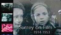 Film show at parish meeting - Surrey in Peace and War