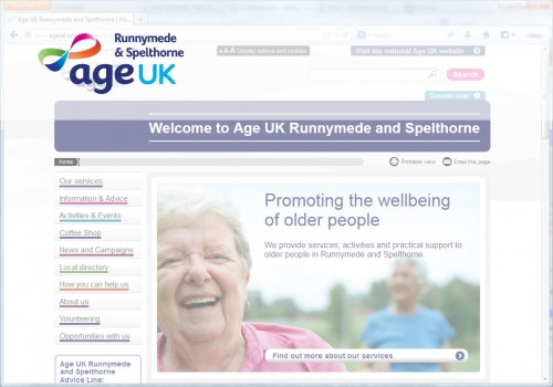 Runnymede and Spelthorne Age UK