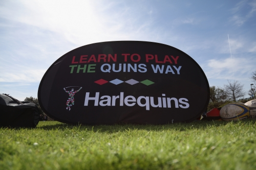 Become a Harlequins Hero at an October half-term rugby camps